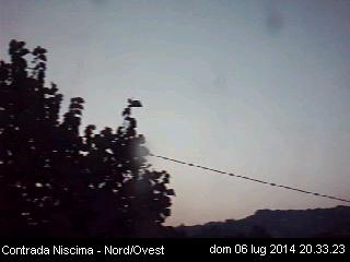 Webcam Caltanisseta - Contrada Niscima
